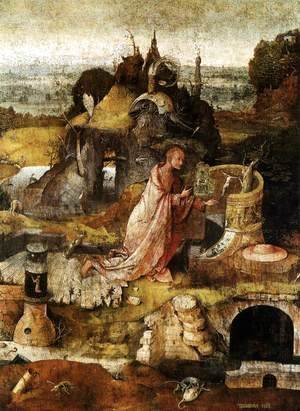 Hieronymous Bosch - Hermit Saints Triptych (central panel)