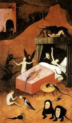 Hieronymous Bosch - Last Judgment (fragment of Hell)