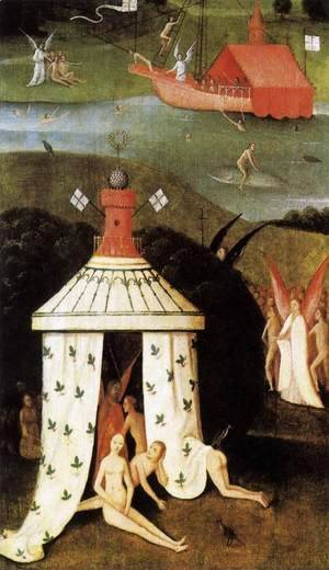 Hieronymous Bosch - Last Judgment (fragment of Paradise)