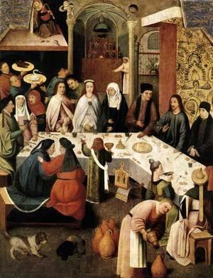 Hieronymous Bosch - Marriage Feast at Cana