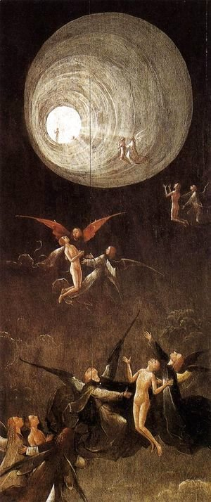 Hieronymous Bosch - Paradise- Ascent of the Blessed