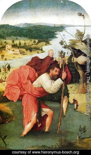 Hieronymous Bosch - St Christopher