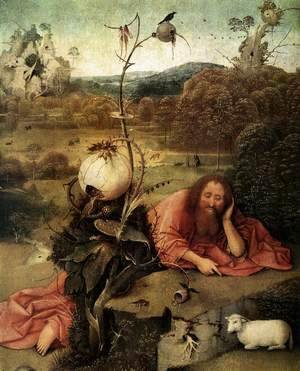 Hieronymous Bosch - St John the Baptist in the Wilderness