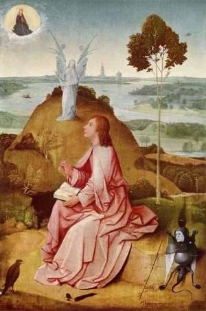 Hieronymous Bosch - St John the Evangelist on Patmos 1504-05