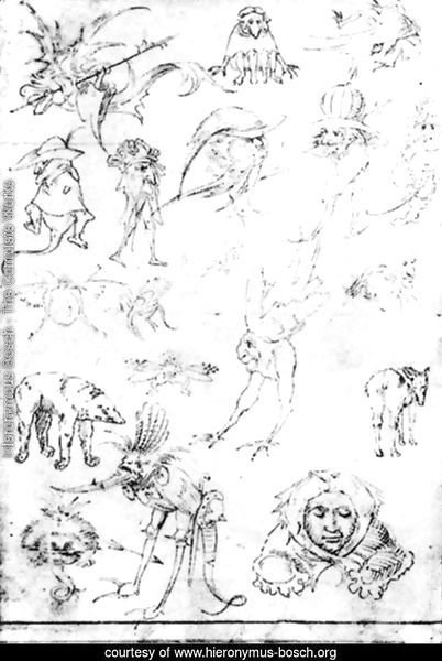 Studies of Monsters - 1