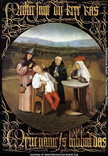 The Cure of Folly (Extraction of the Stone of Madness) 1475-80