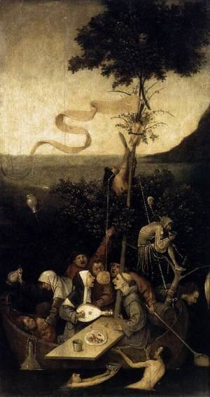Hieronymous Bosch - The Ship of Fools 1490-1500