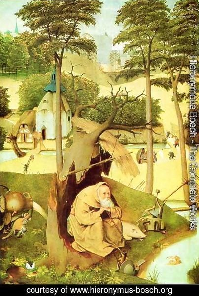 Hieronymous Bosch - The Temptation of St Anthony