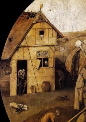 Hieronymous Bosch - The Wayfarer (detail)