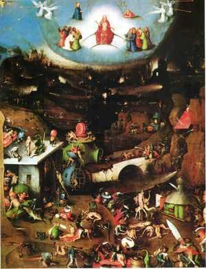 Hieronymous Bosch - Triptych of Last Judgement (central panel)