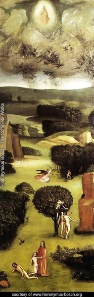 Hieronymous Bosch - Triptych of Last Judgement (left wing)