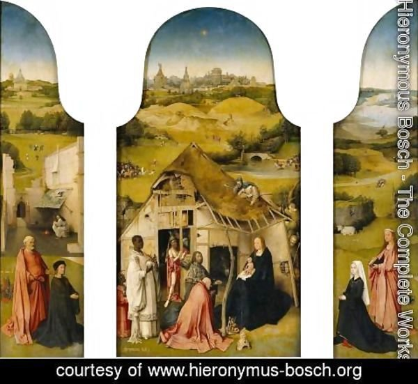 Hieronymous Bosch - Triptych of the Adoration of the Magi 1510
