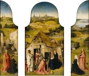 Triptych of the Adoration of the Magi 1510