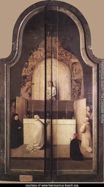 Triptych of the Adoration of the Magi (closed) c. 1510