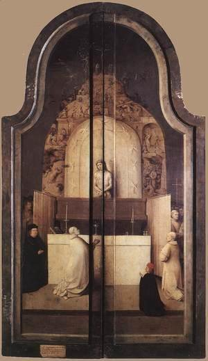 Hieronymous Bosch - Triptych of the Adoration of the Magi (closed) c. 1510