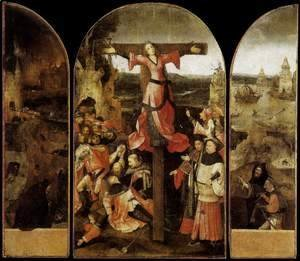Hieronymous Bosch - Triptych of the Crucifixion of St Julia
