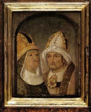 Hieronymous Bosch - Two Male Heads
