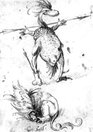 Hieronymous Bosch - Two Monsters