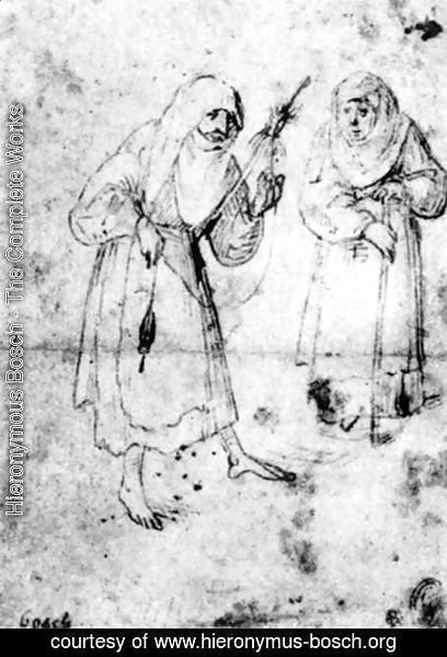 Hieronymous Bosch - Two Witches