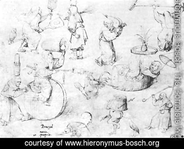 Hieronymous Bosch - Witches