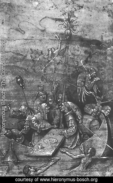 "Study for ""The Ship of Fools"" 1500"