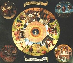 Hieronymous Bosch - Seven Deadly Sins or The Table of Wisdom